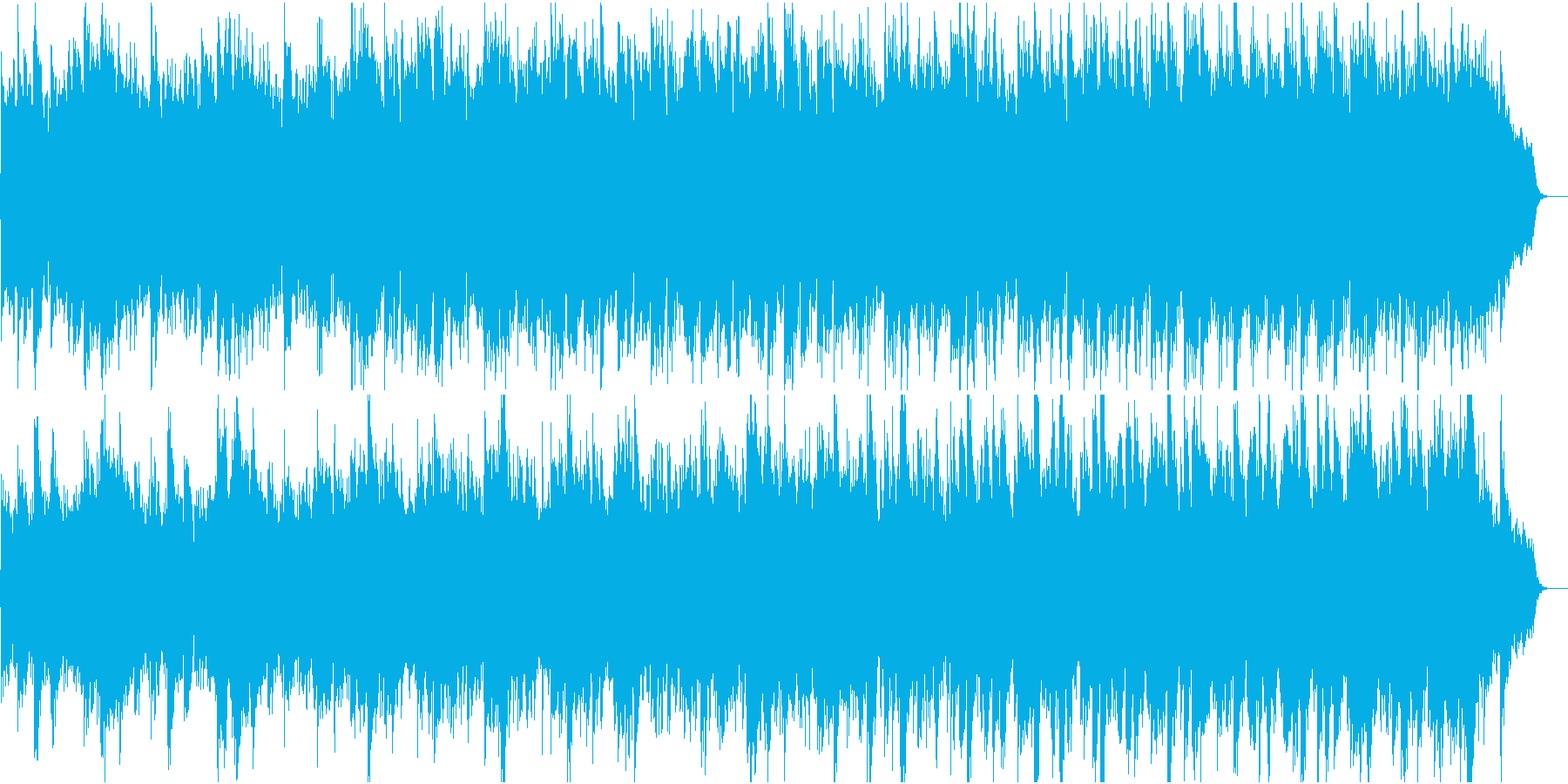 和風:日本の風情・情緒⑤尺八締太鼓なしの再生済みの波形