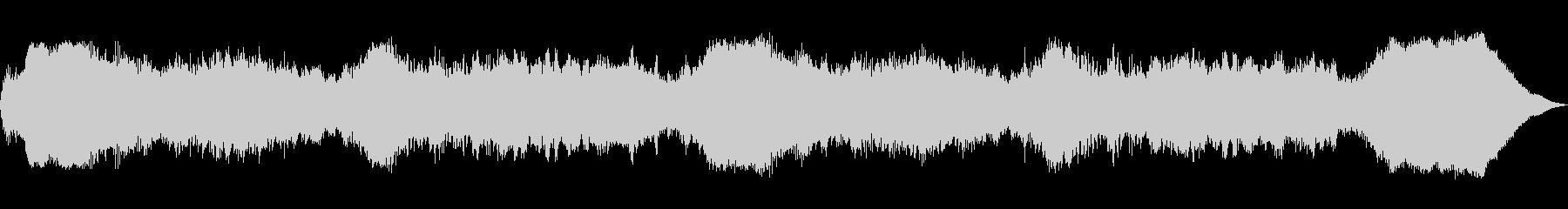 テーマ「秘儀」30秒BGMの未再生の波形
