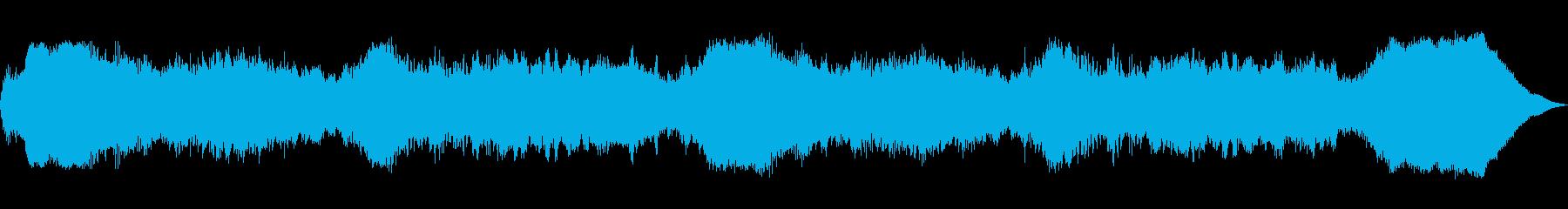 テーマ「秘儀」30秒BGMの再生済みの波形