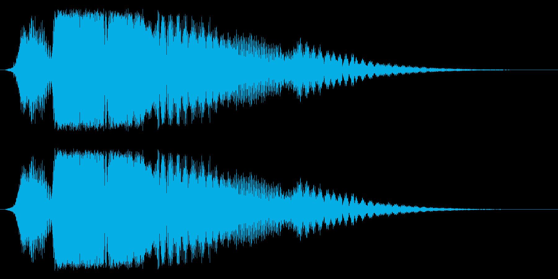 喫茶店等のドアベル、入店音に最適!03の再生済みの波形