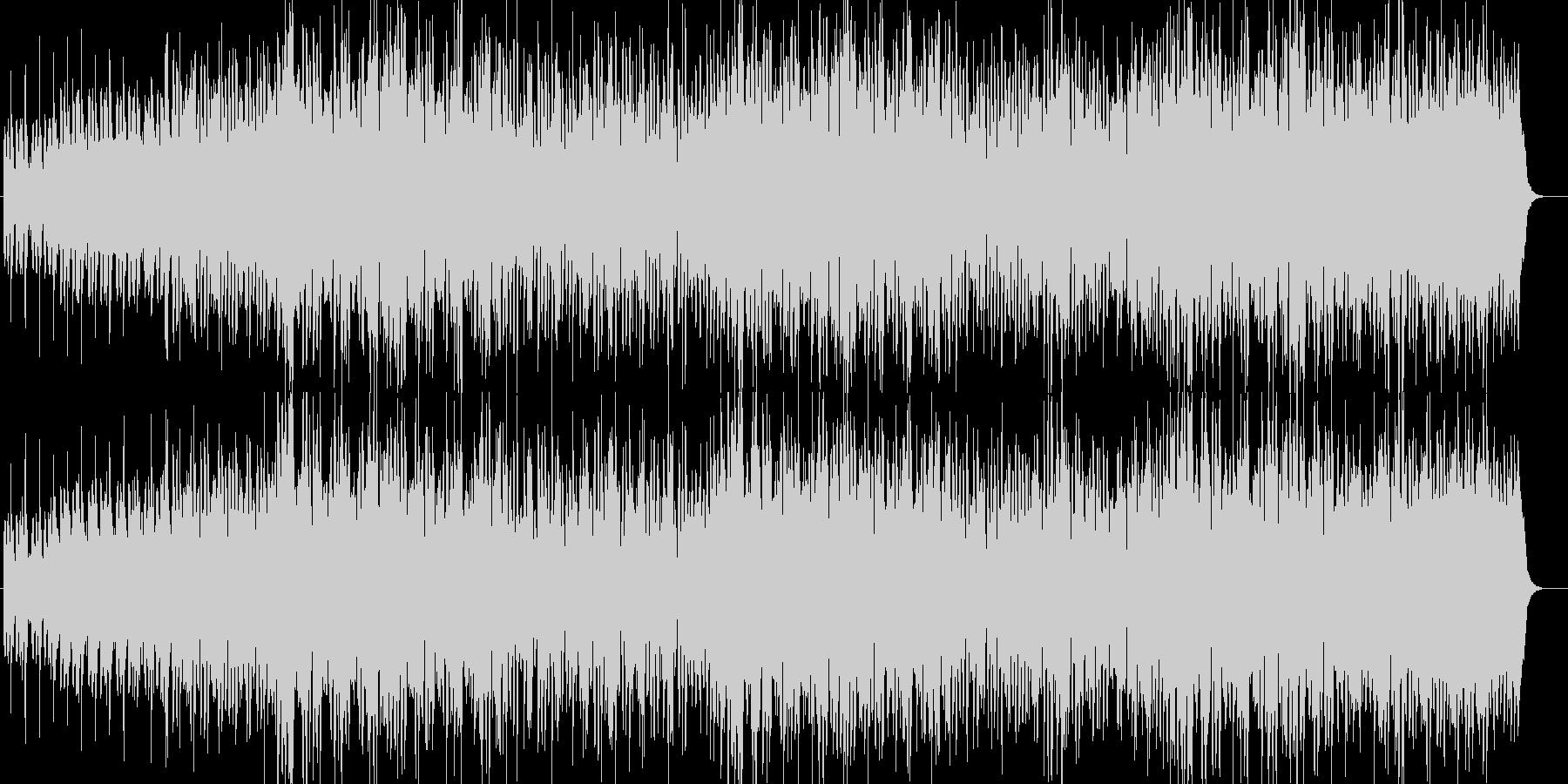 格闘技入場系マッチョなHIPHOPロックの未再生の波形