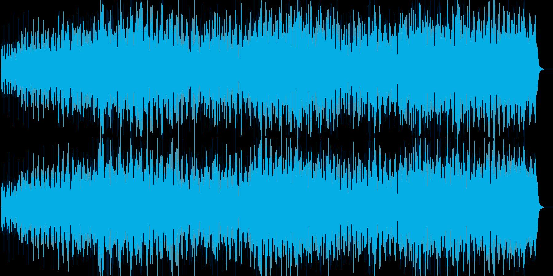 格闘技入場系マッチョなHIPHOPロックの再生済みの波形