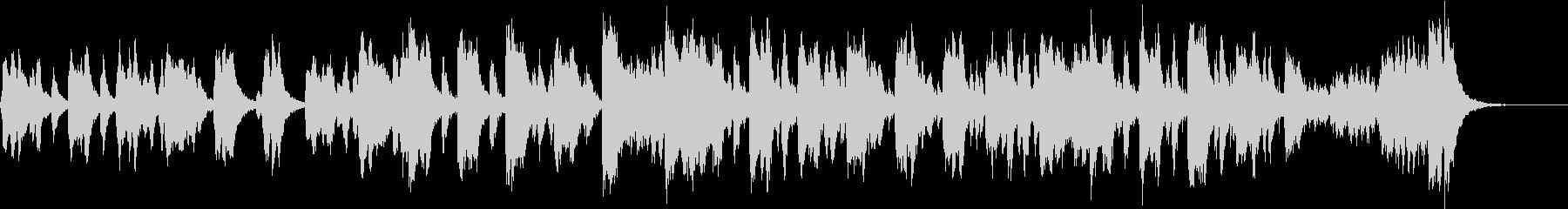 バイオリンとピアノのコミカルなワルツの未再生の波形