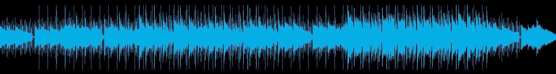 大人っぽいムードのお洒落でスローなBGMの再生済みの波形