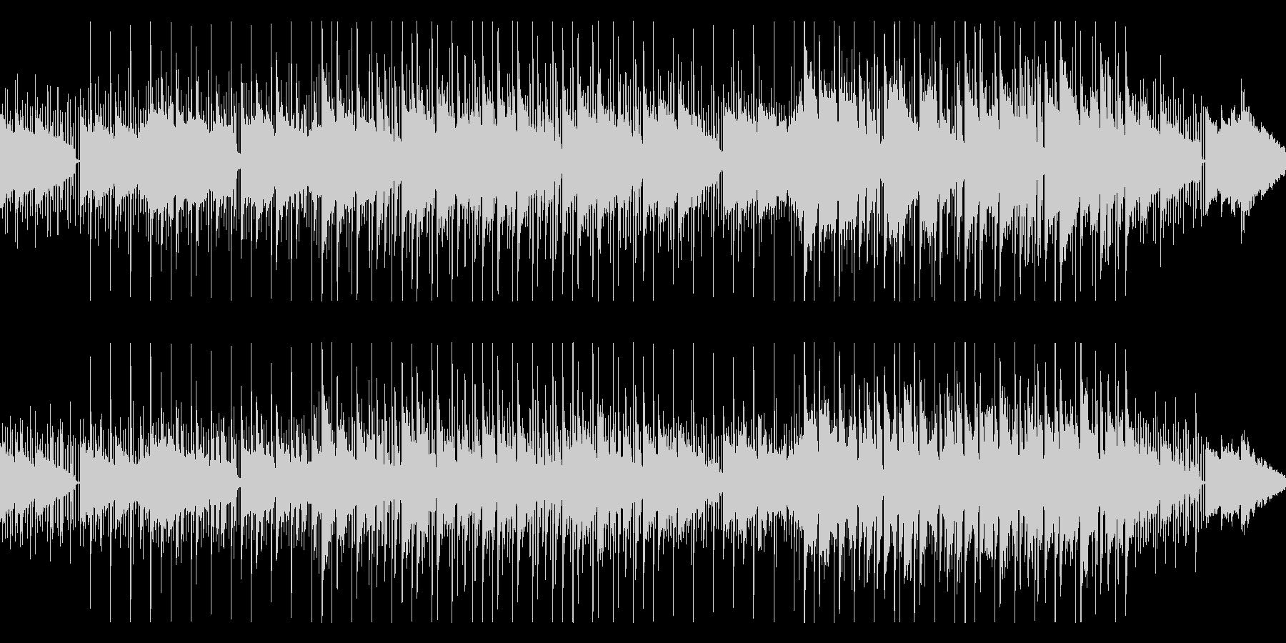 大人っぽいムードのお洒落でスローなBGMの未再生の波形
