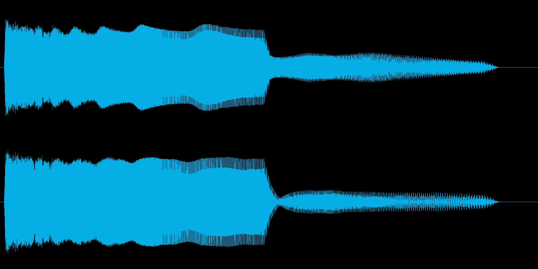 ピユヴーン(光線銃またはシステムダウン)の再生済みの波形