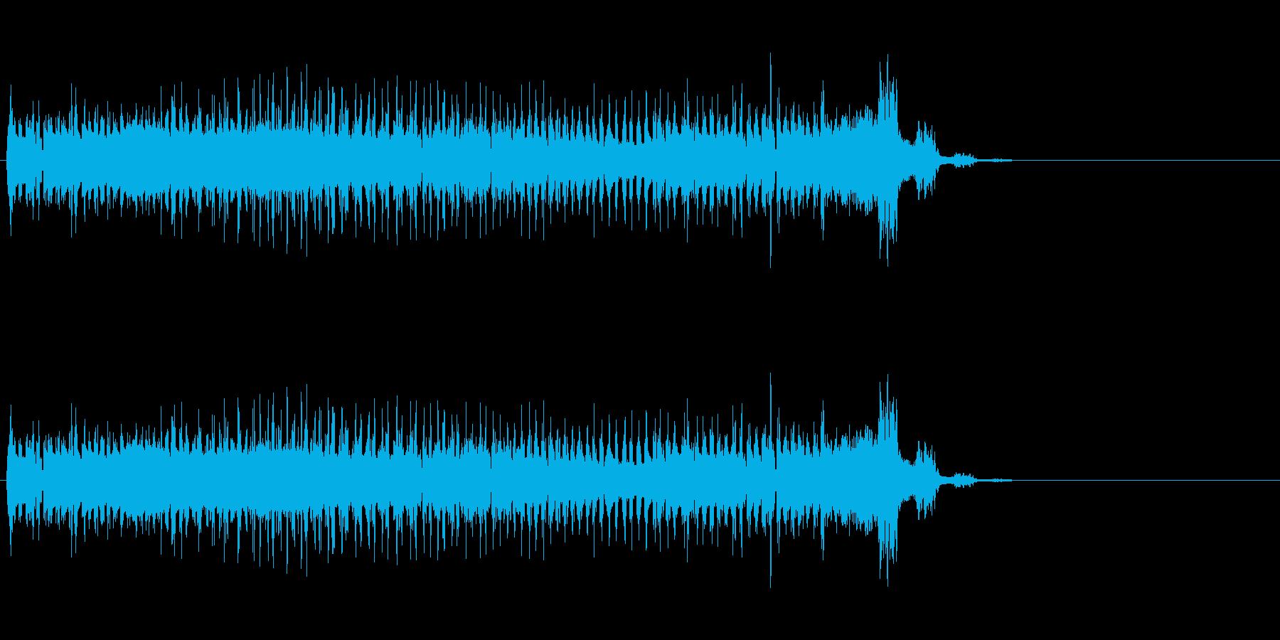 キュゥゥゥゥゥゥンの再生済みの波形