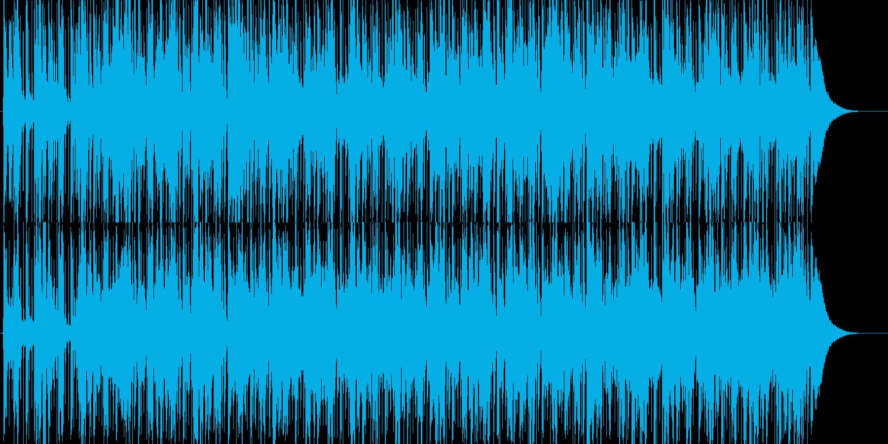 異国情緒溢れるほのぼのBGMの再生済みの波形