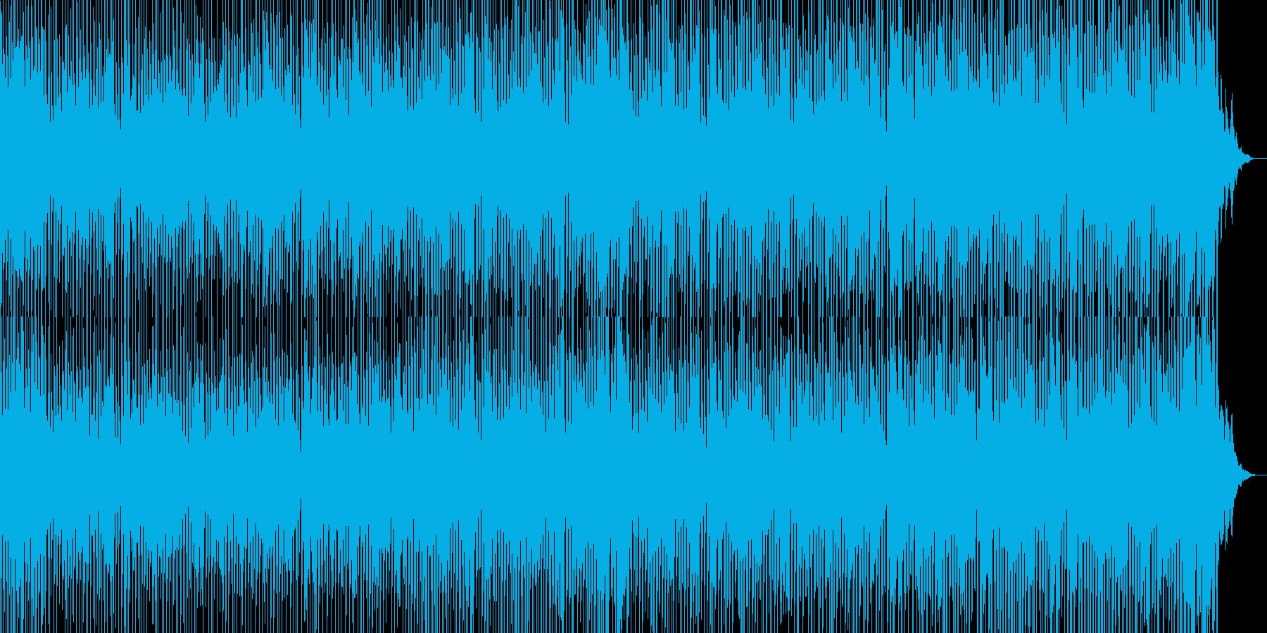 ほのぼのとした日常にぴったりな和風BGMの再生済みの波形