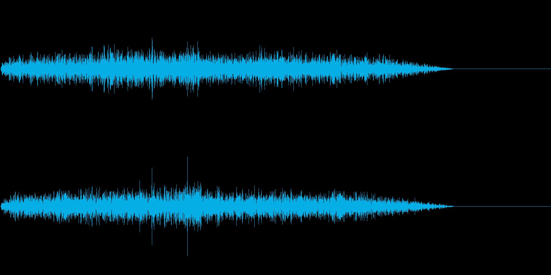 ぼーー、という風の鈍い音のようなもので…の再生済みの波形