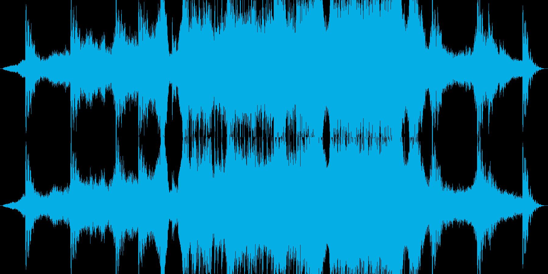 迫力・巨大・ボス映画予告(合唱がない)の再生済みの波形