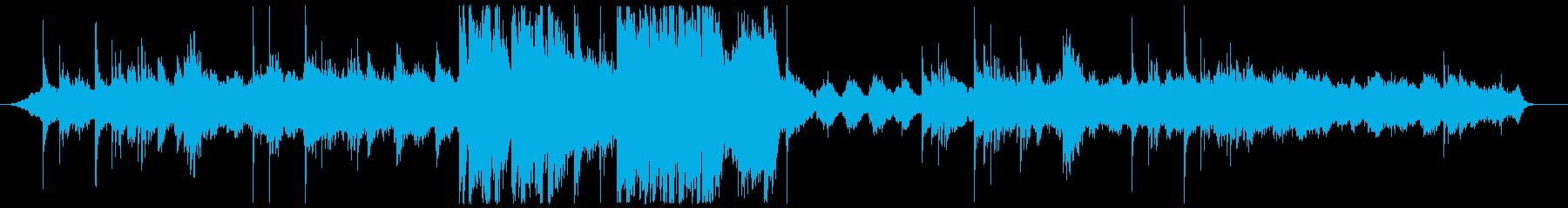 ピアノとストリングスによるファンタジーの再生済みの波形