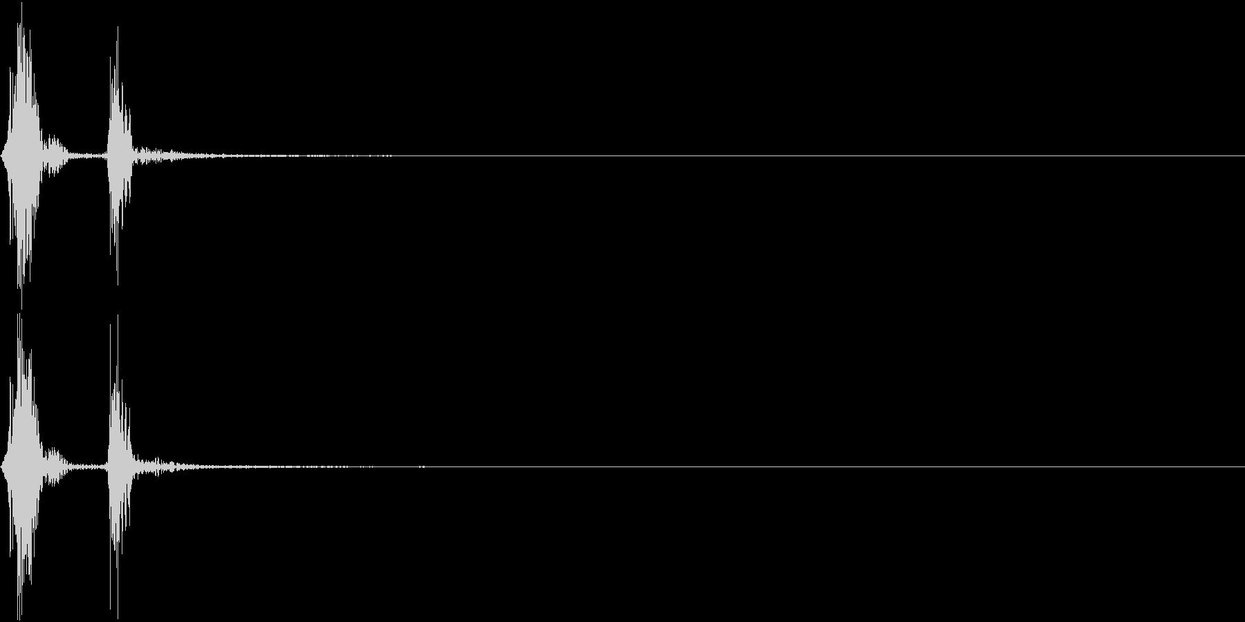 KAKUGE 格闘ゲーム戦闘音 27の未再生の波形