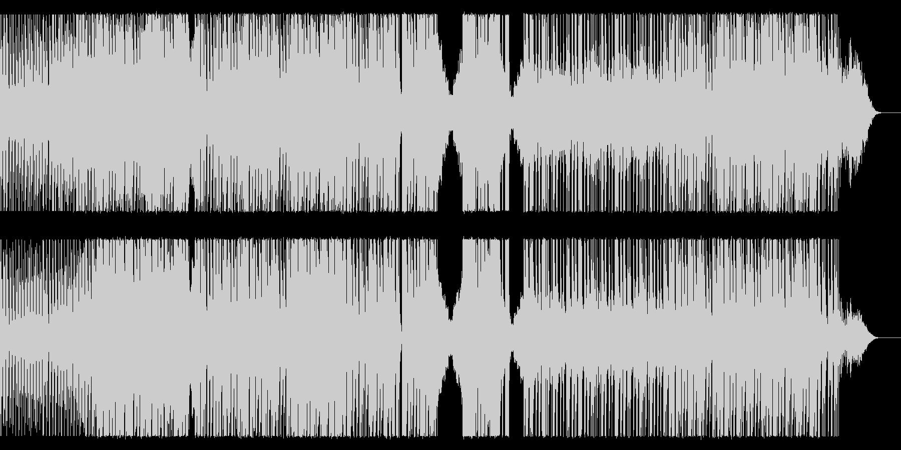 EDM系のHIPHOPビートの未再生の波形