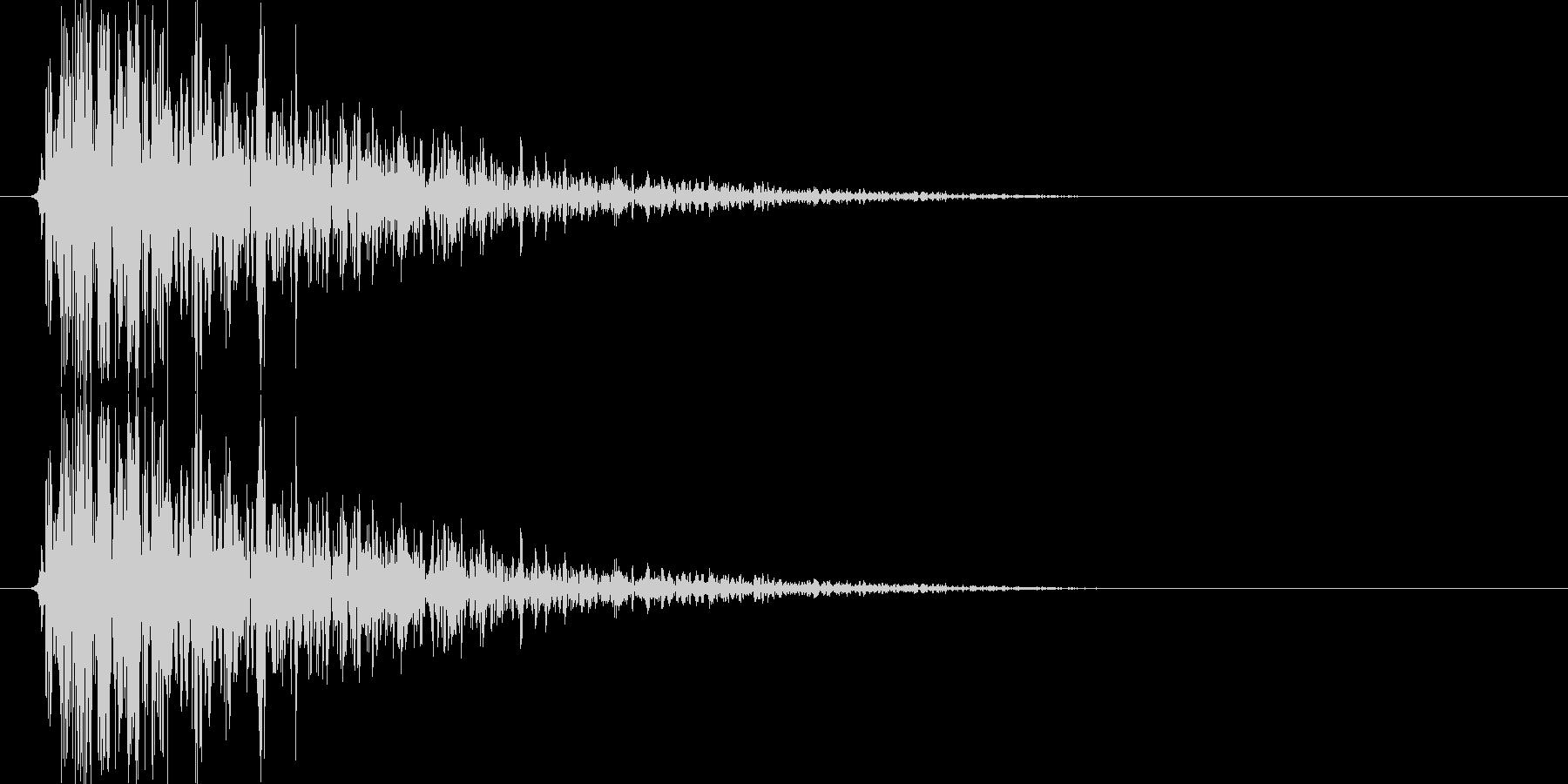 ボウーッ↑(火器攻撃音、シューティング)の未再生の波形