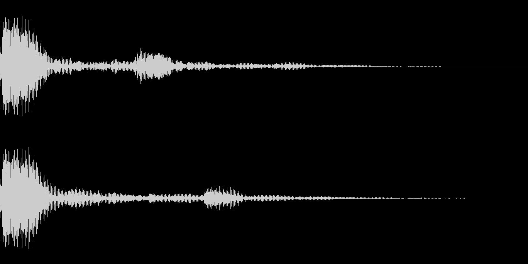 プンプポン(01_クリック_04)の未再生の波形