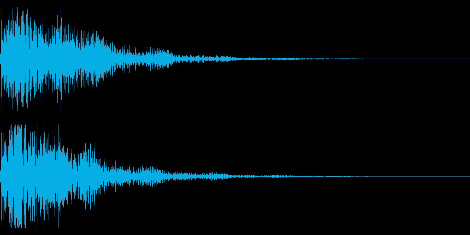 琴と太鼓の和風インパクトジングル! 01の再生済みの波形