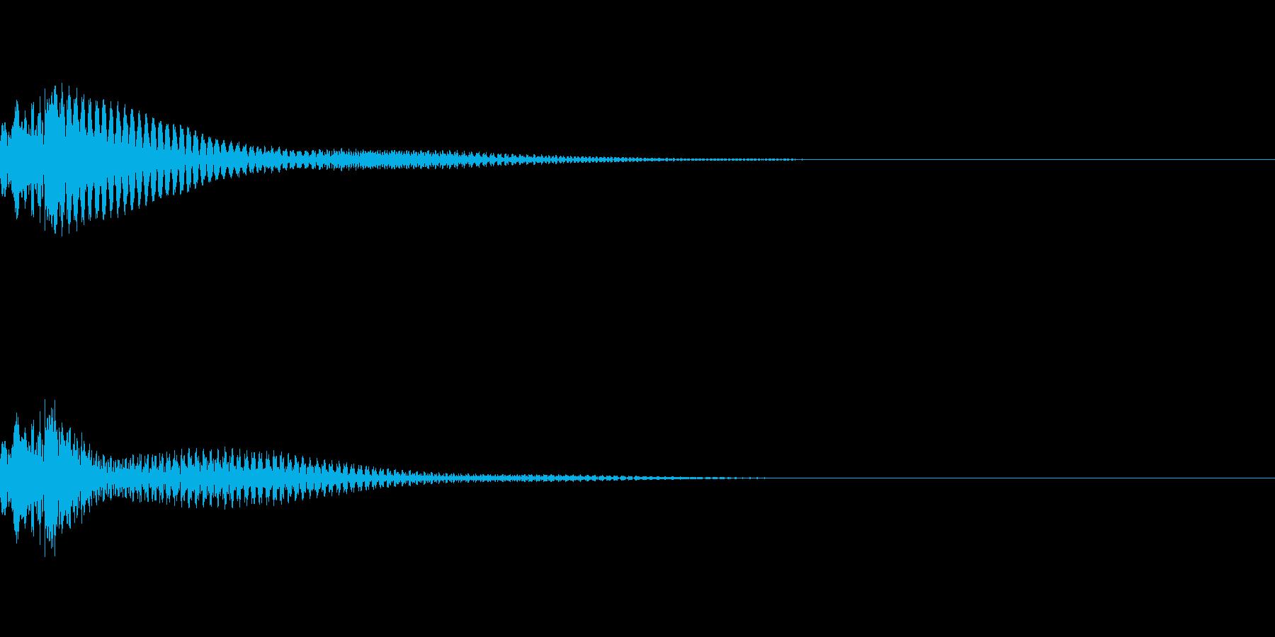 ポロンの再生済みの波形