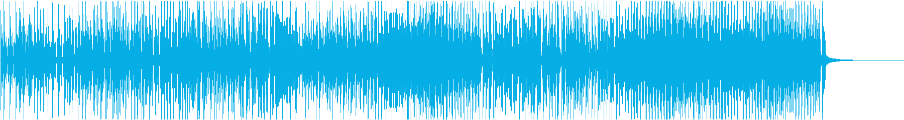 CMや映像におしゃれなジャズピアノロックの再生済みの波形