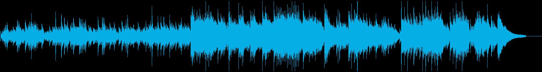 しっとりと滑らかなピアノバラードの再生済みの波形