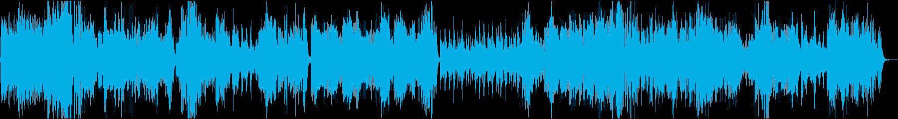 パーティでよく聞くモーツァルトの再生済みの波形