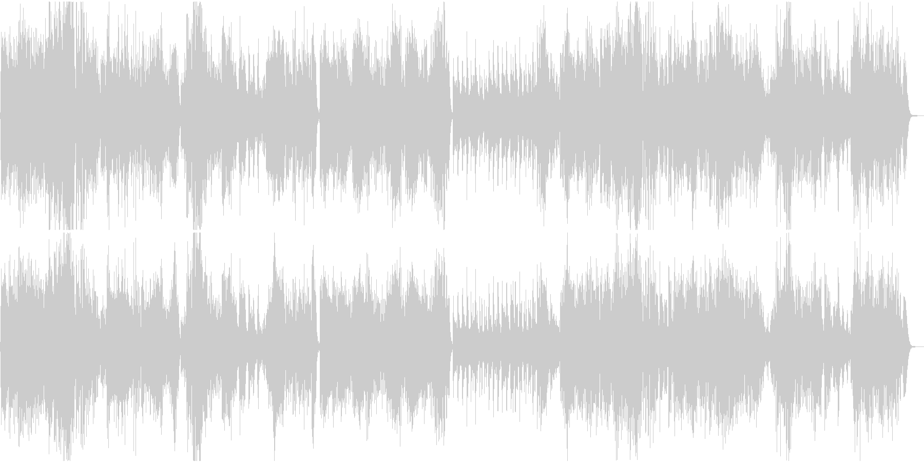 パーティでよく聞くモーツァルトの未再生の波形