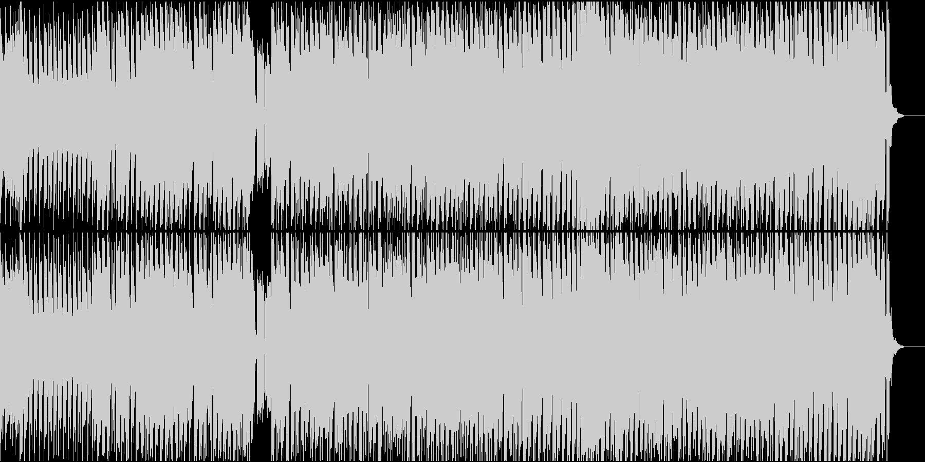 攻撃的なEDMに変身したモルダウです!の未再生の波形