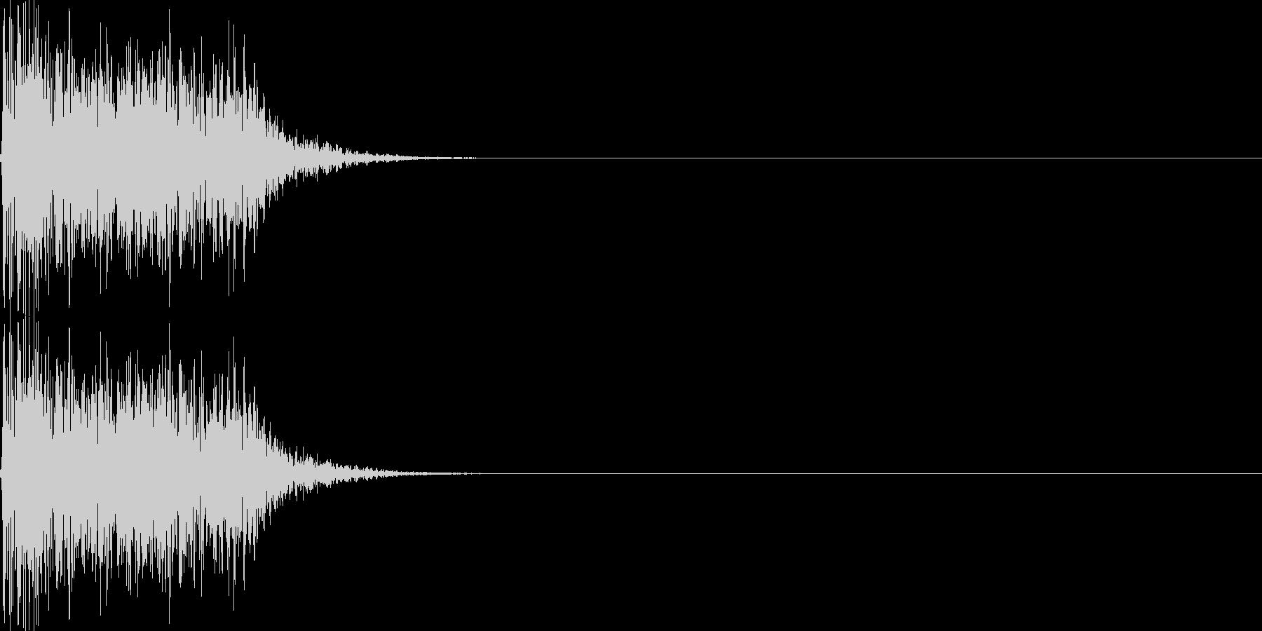 呪文02の未再生の波形