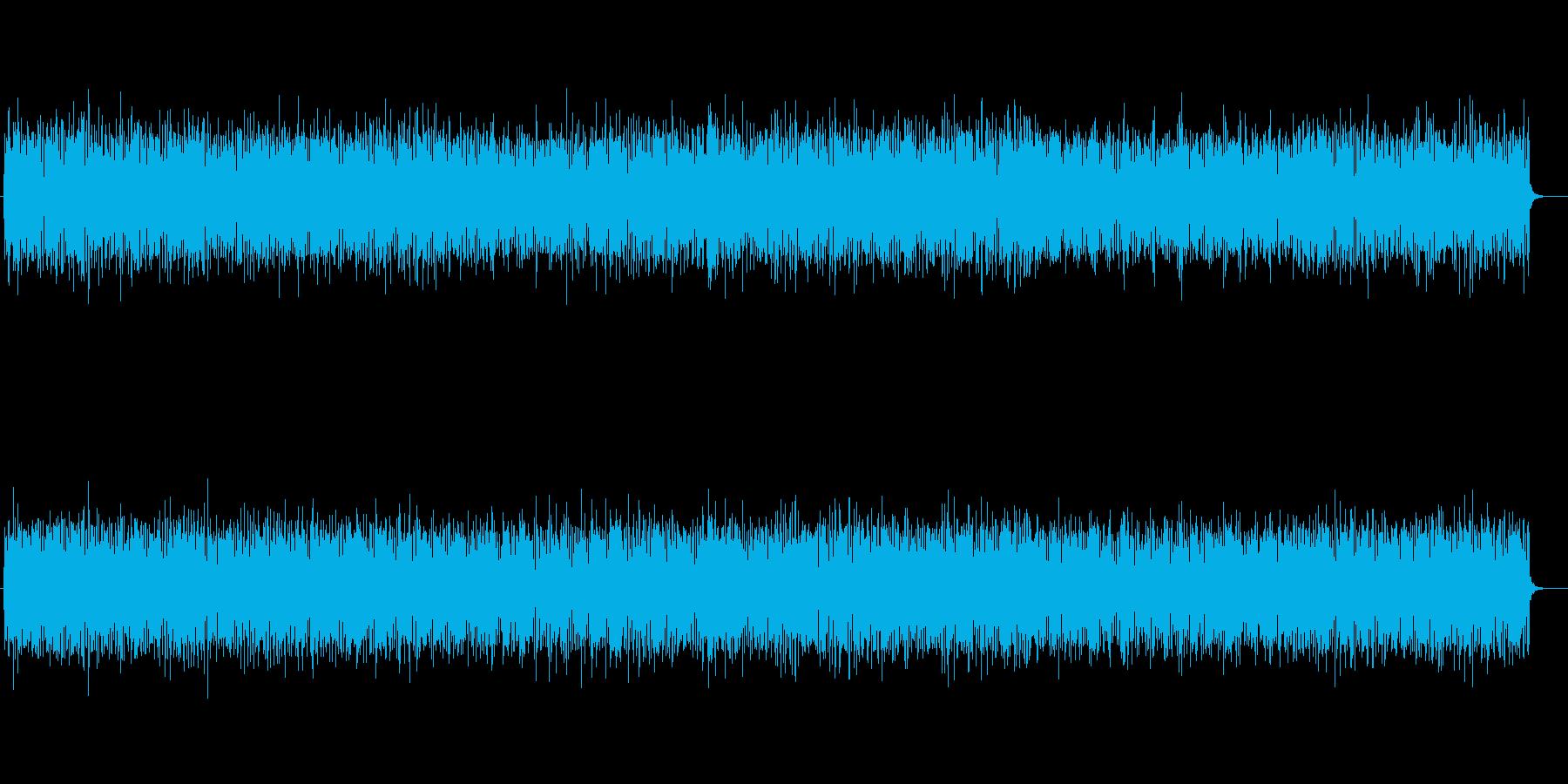 軽快でポップなリズムサウンドの再生済みの波形