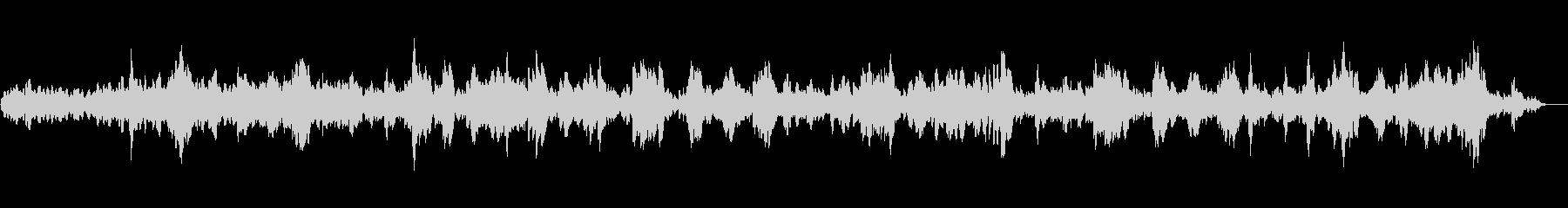 サスペンスホラー映像に合う怪しげな音楽の未再生の波形