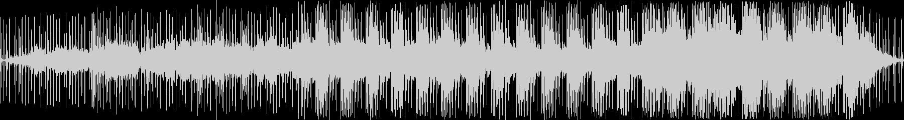 ダークで落ち着いた感じの曲(ループ)の未再生の波形