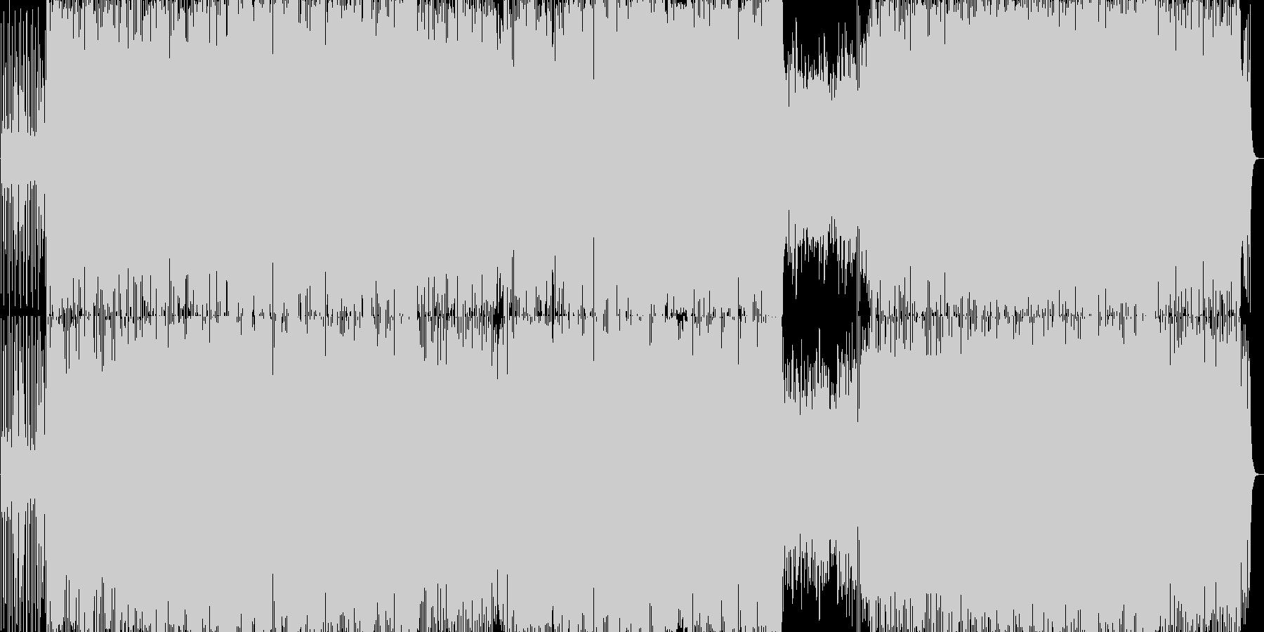 エンディングに合うクールで哀愁BGMの未再生の波形