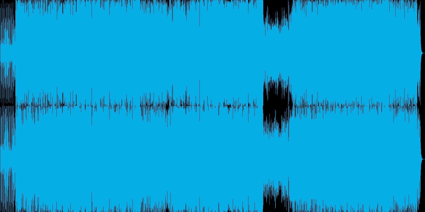 エンディングに合うクールで哀愁BGMの再生済みの波形