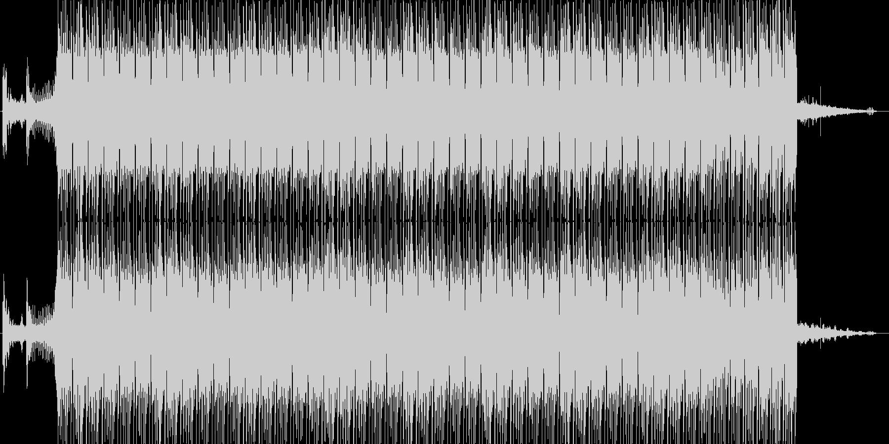 ジャングルで流れるドラムンベースの未再生の波形