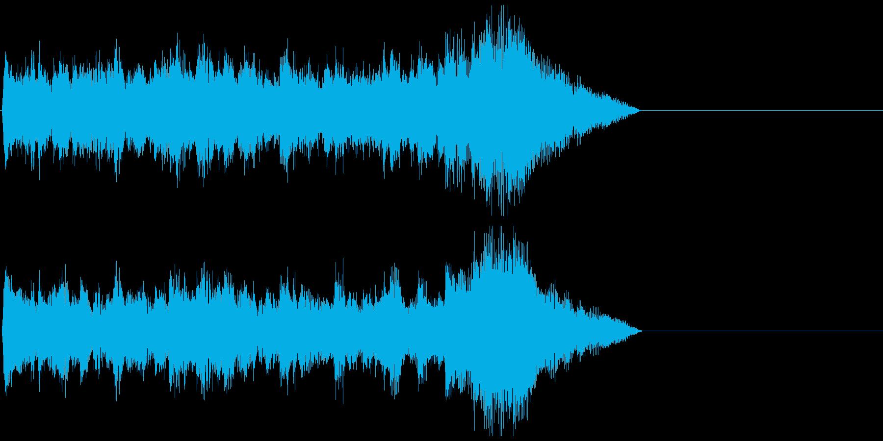 発車メロディ 7の再生済みの波形