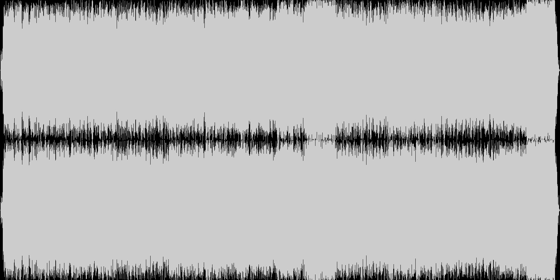 情熱的なギターソロによるハードロックの未再生の波形