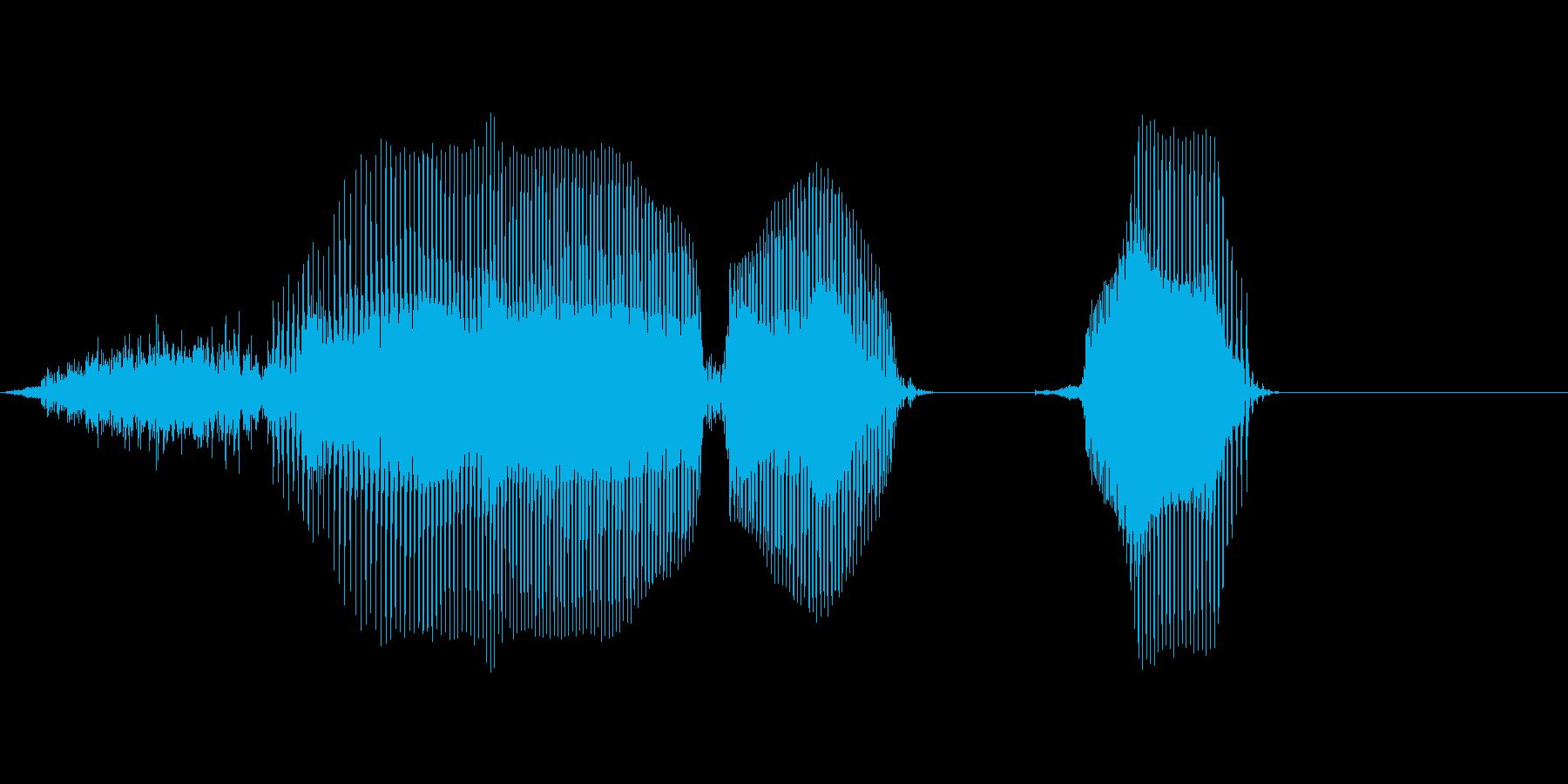 西暦の再生済みの波形