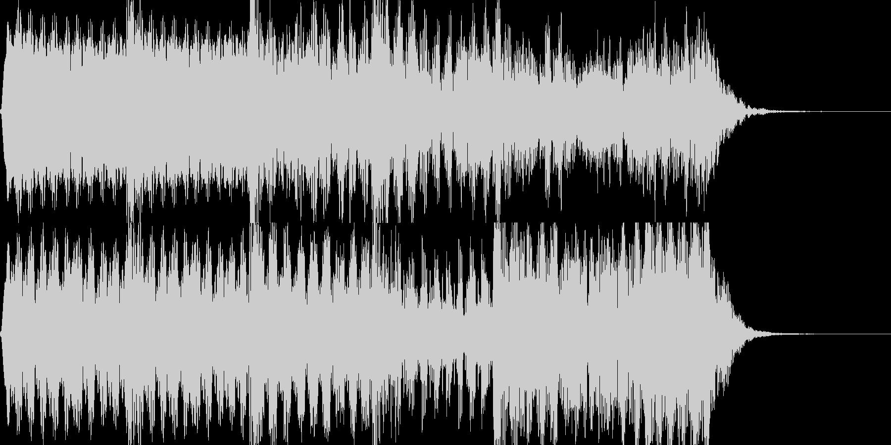 フルート 忍び寄る不穏な感じ コミカルの未再生の波形
