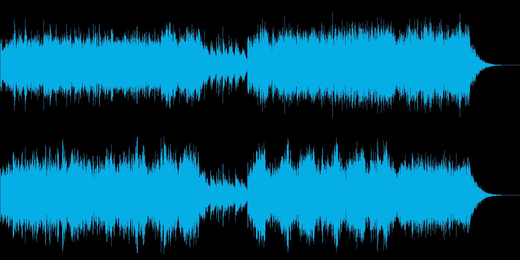終焉、終末的にダークな雰囲気の短いBGMの再生済みの波形