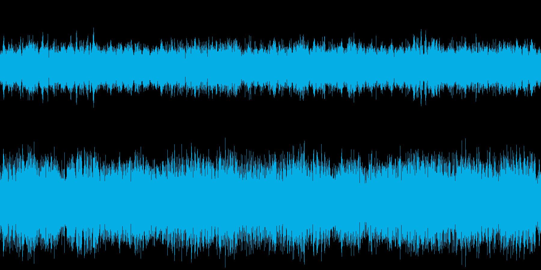 古き良きレトロな雰囲気のBGMです。の再生済みの波形