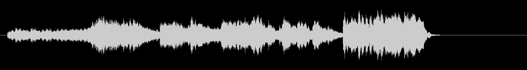 透明なポップバラード(イントロ~A~…)の未再生の波形