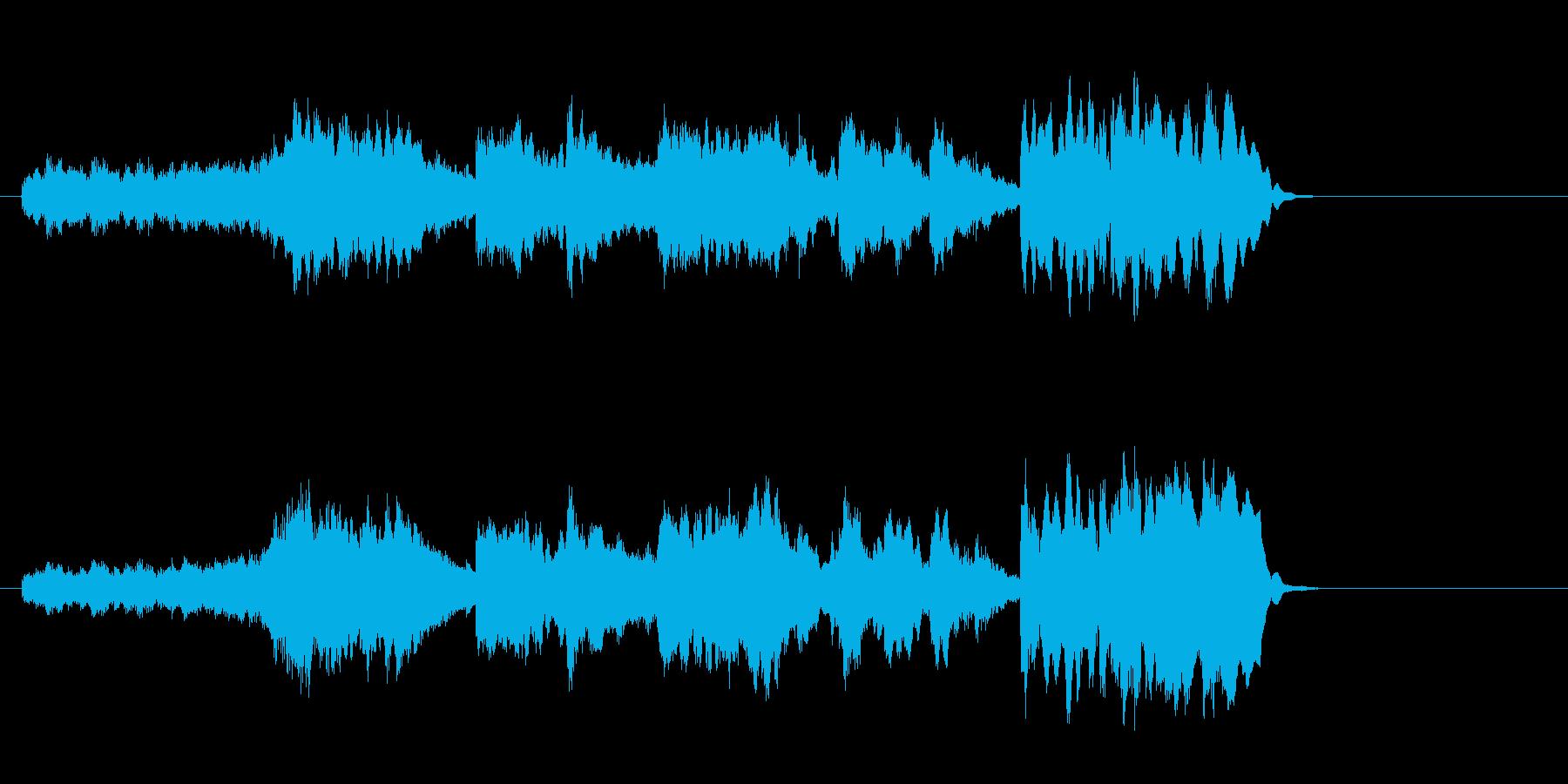 透明なポップバラード(イントロ~A~…)の再生済みの波形