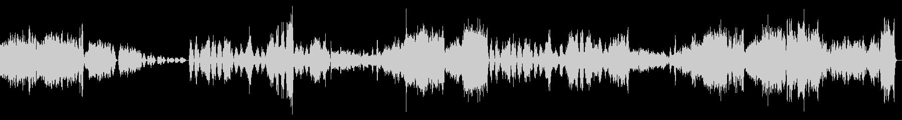 絶望感のあるクラシック『弦楽セレナーデ』の未再生の波形