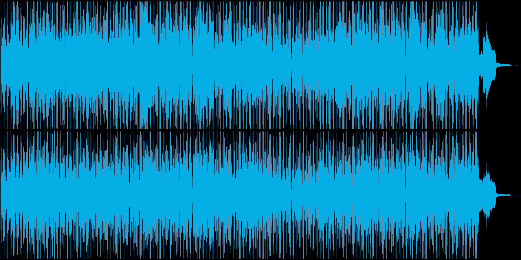 映像BGM 王道的サウンドのボサノバの再生済みの波形