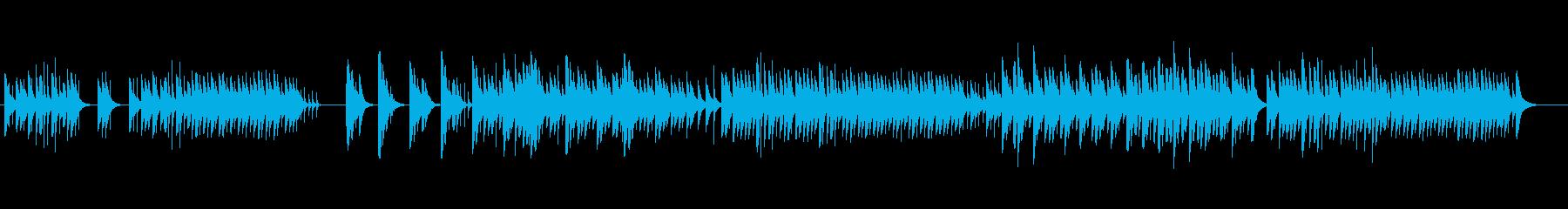 魅惑的なゴシックダークオルゴールの再生済みの波形