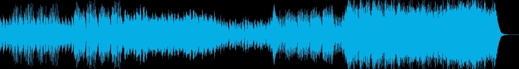 わくわく感ある日常で使えるBGMの再生済みの波形