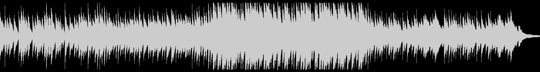 滝の流れの未再生の波形