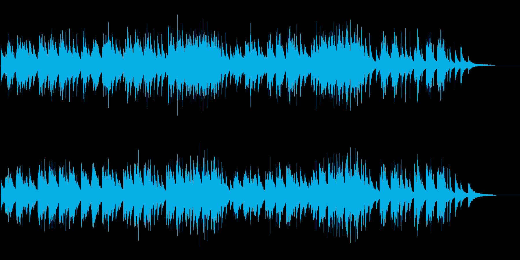 愛のワルツ ソロピアノ ブラームスの再生済みの波形