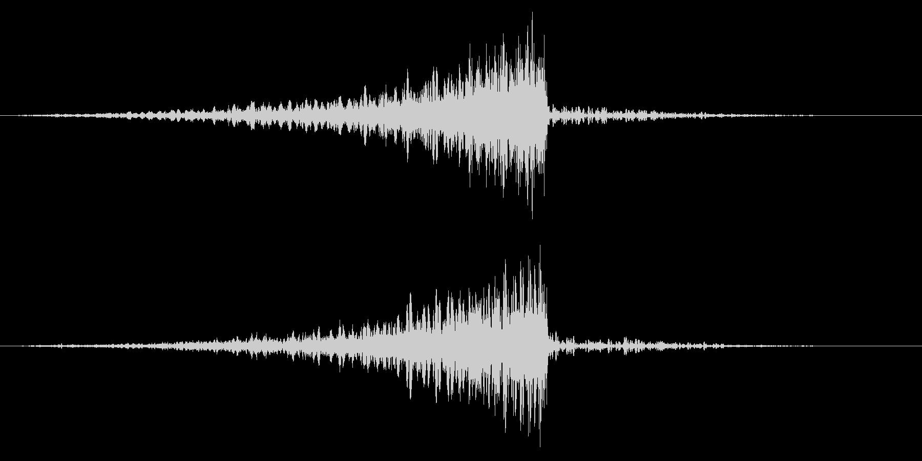 ホラー系アタック音59の未再生の波形