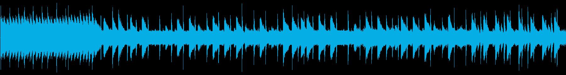 8bit 疾走系チップチューン ループ版の再生済みの波形